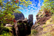 Meteora, Scenic views, Greece von Yuri Hope