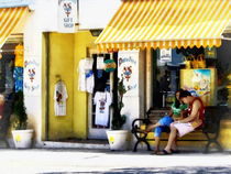 St. George Bermuda - Shopping on a Sunny Afternoon by Susan Savad