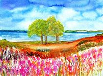 Sommerlandschaft von Irina Usova