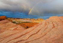 Fire Wave Rainbow Dawn by Mike Dawson