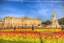 Buckingham Palace London by David Pyatt