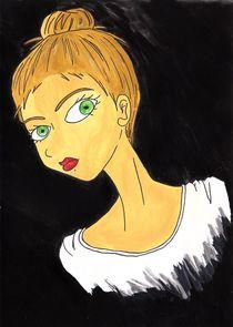 Strange young woman von Juliane Schotte