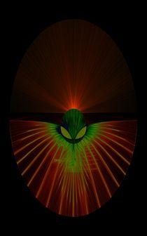 Alien 0003 green by zsuzsa
