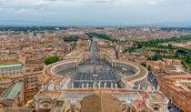 San Pietro Square by Gabriel Codrut Nitescu