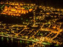Heidelberg at night von consen