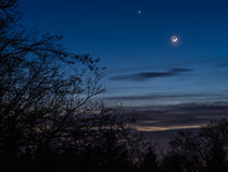 Moon over Heidelberg by consen