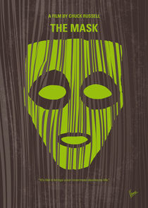 No647 My The Mask minimal movie poster von chungkong