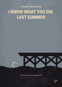 No650 My I Know What You Did Last Summer minimal movie poster by chungkong