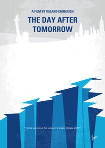 No651 My The Day After Tomorrow minimal movie poster von chungkong