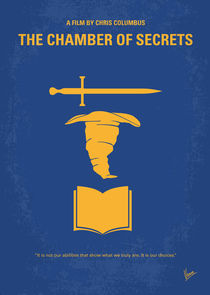 No101-2 My HP - CHAMBER OF SECRETS minimal movie poster von chungkong