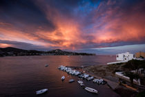 Sundown on Ibiza by gfischer