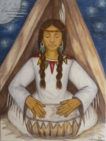 Indianerin by Marija Di Matteo