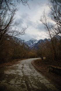 Road with mountain II von Salvatore Russolillo