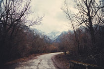 Road with mountain III by Salvatore Russolillo