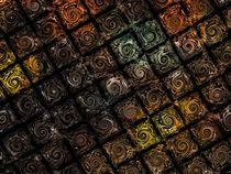 Digital Swirls von Peter Hebgen