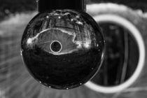 Lightpainting Glaskugel in schwarzweiß von mylook