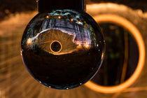 Lightpainting Glaskugel by denicolofotografie