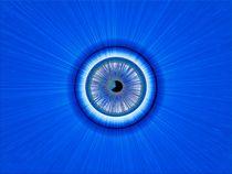 Blue Eye by Peter Hebgen