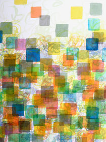 Dancing Squares by Heidi  Capitaine