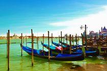 Die Gondeln von Venedig by dark-dude