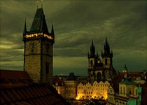 Prague - Old city square by dark-dude