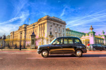 Taxi Buckingham Palace von David Pyatt