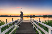 Windmühle Kinderdjik Holland Niederlande by Dennis Stracke