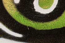 Detail of a graffiti as wallpaper, texture by Christian Zirsky