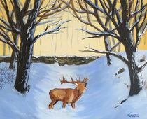 Winter-reindeer
