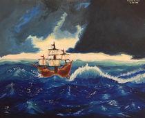 Stormy Seas by Gayathri Morrison