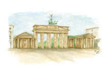 Brandenburger Tor von Holger Brust