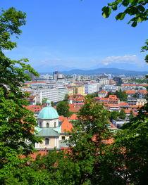 Blick auf Ljubljana von gugigei
