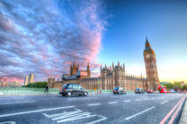 Westminster Bridge Early Evening by David Pyatt
