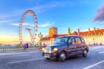 Westminster Bridge And The London Eye by David Pyatt