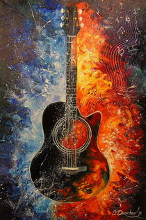 The rhythms of the guitar by Olha Darchuk