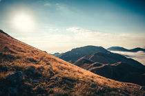 Mountains in the background XXIII by Salvatore Russolillo