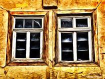 Simply 2 Wooden Windows von Sandra  Vollmann