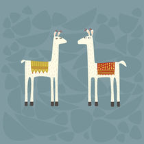 'Everyone lloves a llama' by Nic Squirrell