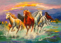 'A herd of horses' by Olha Darchuk