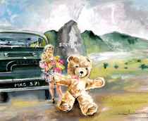 Benjamin And Little Ann On Their Way To Scotland von Miki de Goodaboom