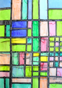 Homage to Mondrian von Heidi  Capitaine