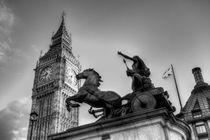 Big Ben and Boadicea Statue  von David Pyatt