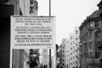 berlin, checkpoint charlie by alessia