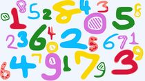 colorful drawing numbers 1 2 3 4 5 6 7 8 9 0 von timla