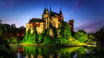 The romantic night of Bojnice castle von Zoltan Duray