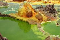 Dallol Volcanic Crater, Ethiopia  von Aidan Moran