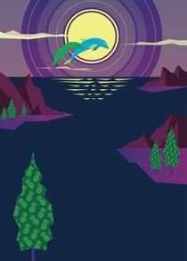 Fantastic-landscape-poster