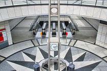 U-Bahn Station Westfalendamm von Bernhard Kaiser