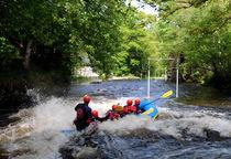 White Water Rafting by Harvey Hudson