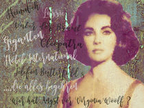 Legenden - Liz Taylor by Chris Berger